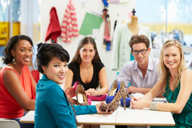 Meeting In Fashion Design Studio